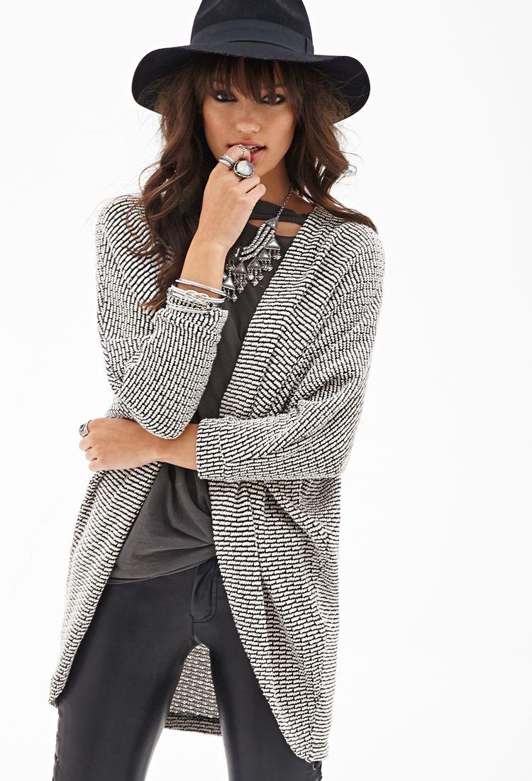 Knit Dolman Cardigan | FOREVER21 - 2000121835