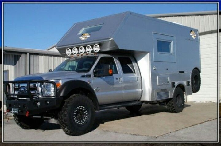 Super Duty Custom Camper Expedition Vehicle Vehicles Overland Vehicles