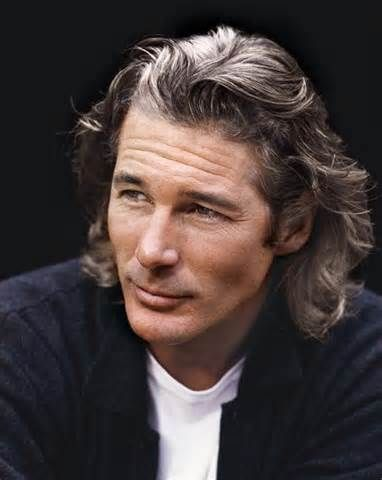 Richard Gere: I love long hair on men even though it\'s so ...
