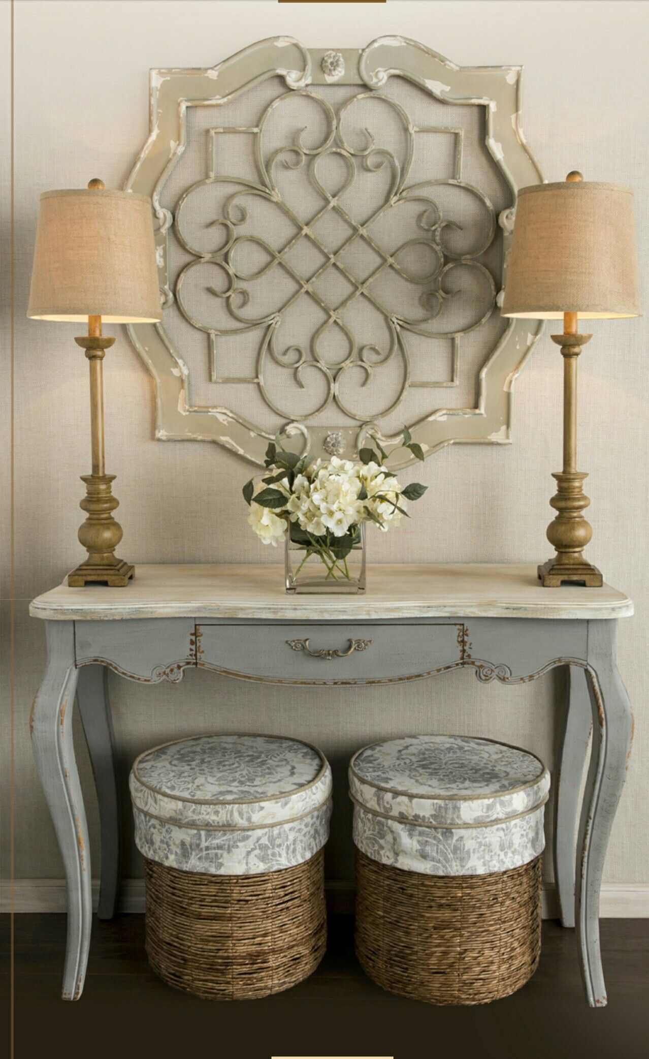 Modern hallway furniture ideas  Entry inspiration  look available at Hobby Lobby  For the Home
