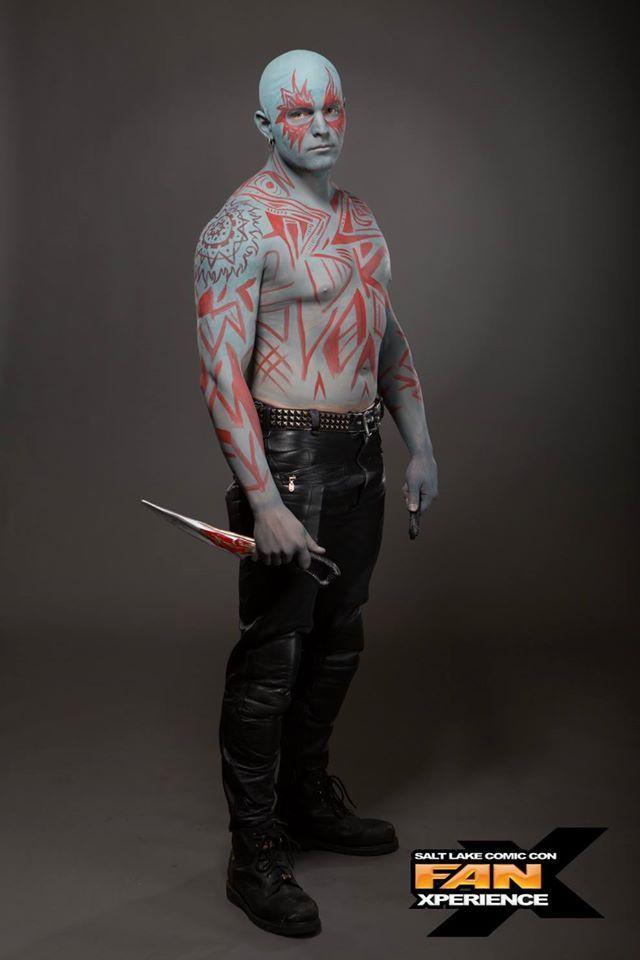 DIY Guardians of the Galaxy Drax Costume   Cosplay ideas ...