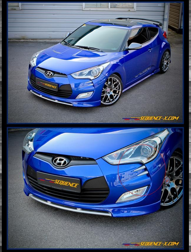 Sequence devils claw kit fit hyundai 2011 2016 veloster kspeed sequence devils claw kit fit hyundai veloster veloster turbo ebay 44 sciox Choice Image