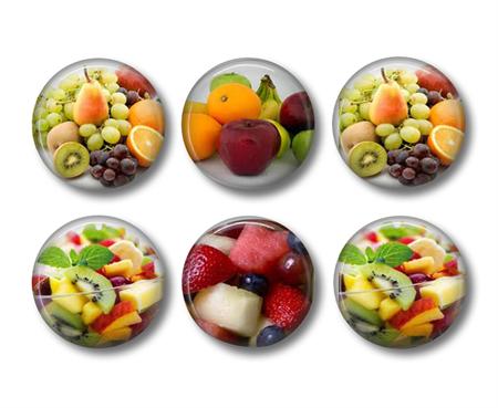 Fridge magnet - Fruit Salad - set of 6 fridge magnets