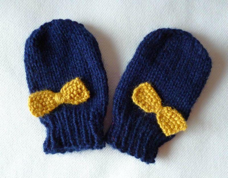 Tuto moufles pour bébé  2 - Mes petites activités   articles bébé ... 1c07ebe0454