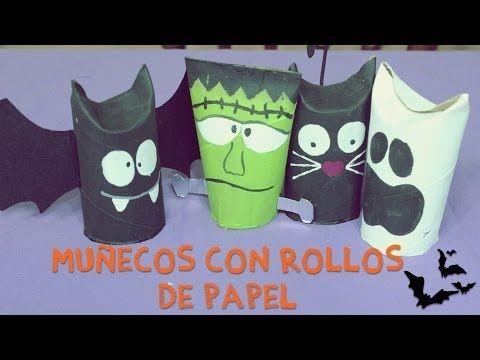 Manualidades para halloween vampiro cartulino youtube - Youtube manualidades de papel ...