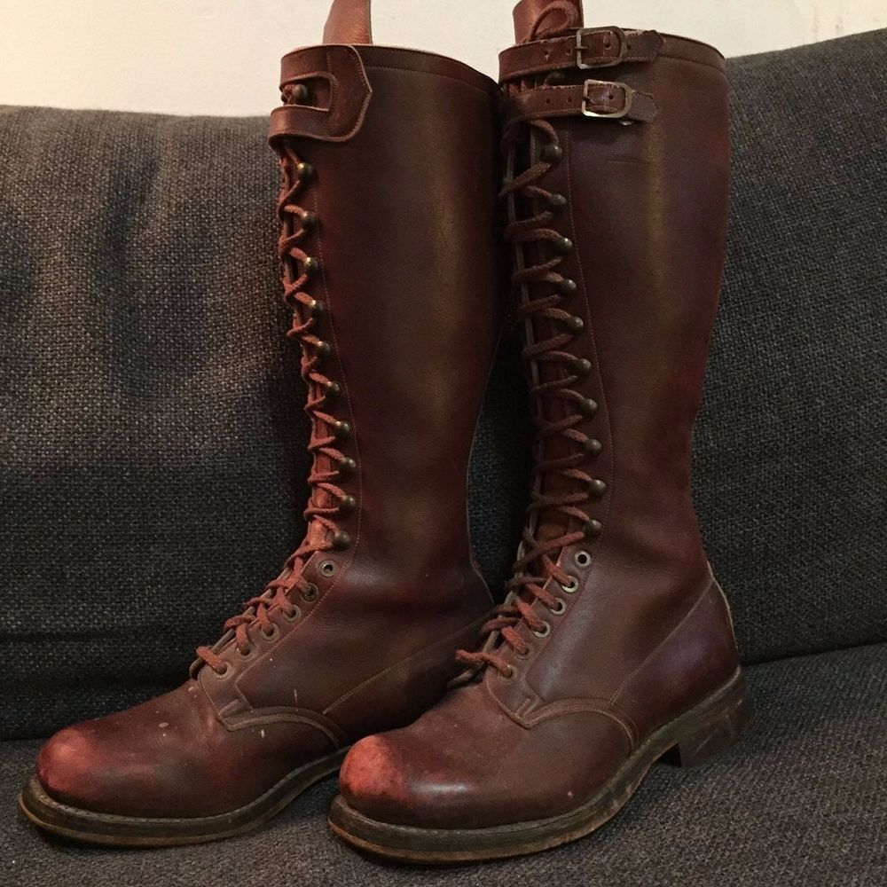 Vintage Military Boot 80
