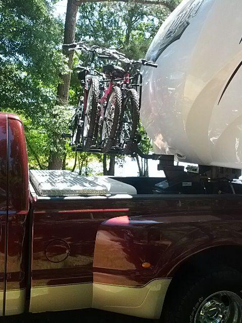 fifth wheel bike rack