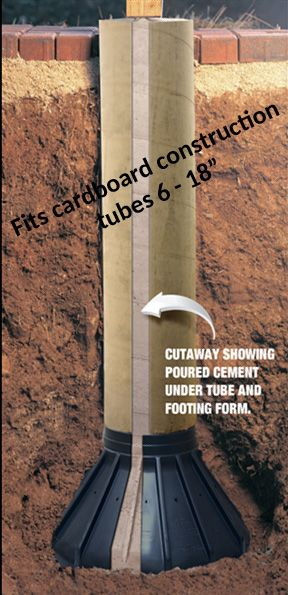Buy The Best Footing Forms Www Bigfootsystems Com Bb