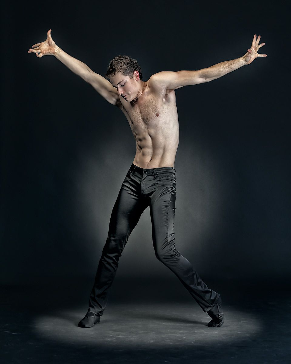 David Kiyak: Orlando Ballet; photographed by Shelley Lake.