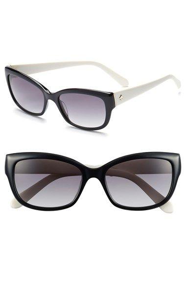 60302417ce4d kate spade new york kate spade 'johanna' 53mm retro sunglasses available at  #Nordstrom