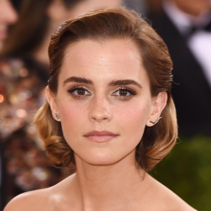 Emma Watson At The Met Gala 2016 Celebrity Hats And Hair