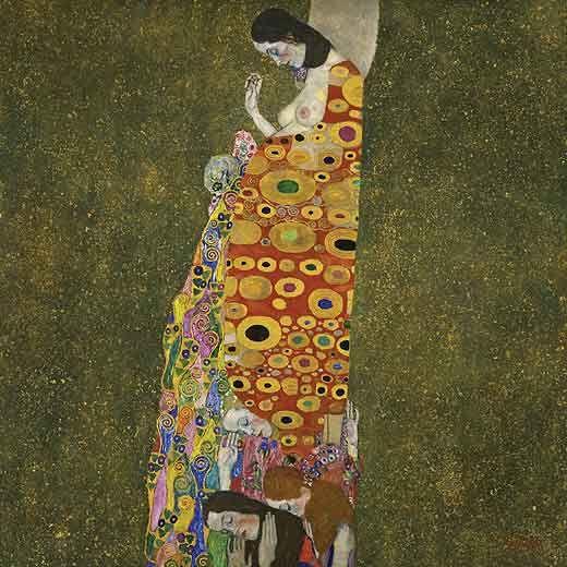 """Gustav Klimt, """"La Esperanza II"""""""
