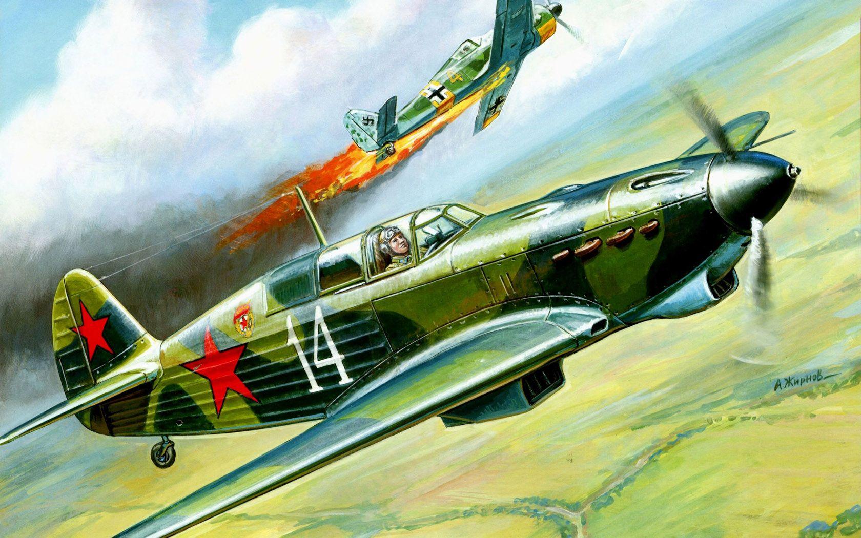 Wallpaper_3664_Aviation_Fighter_Yak-7.jpg (1680×1050)