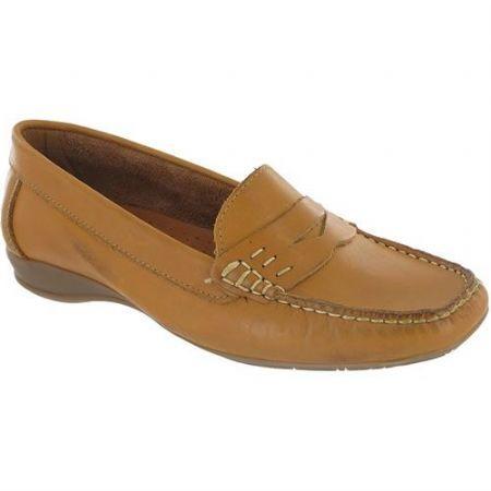 ad63dda9afa Cotswold Coates Ladies Slip On Casual Loafer Shoe Tan