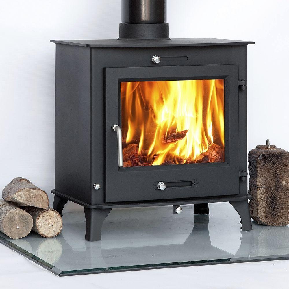 12kw Ottawa Clean Burn Contemporary Modern Woodburning