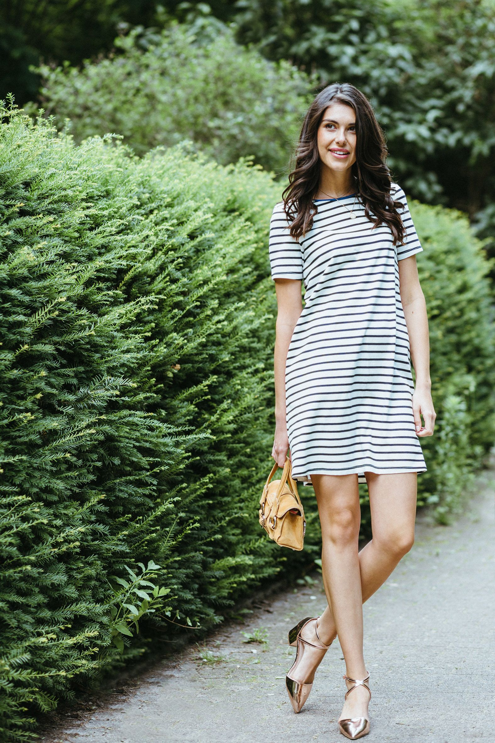Jersey-Kleid Parisienne aus Bio-Baumwolle (mit Bildern ...