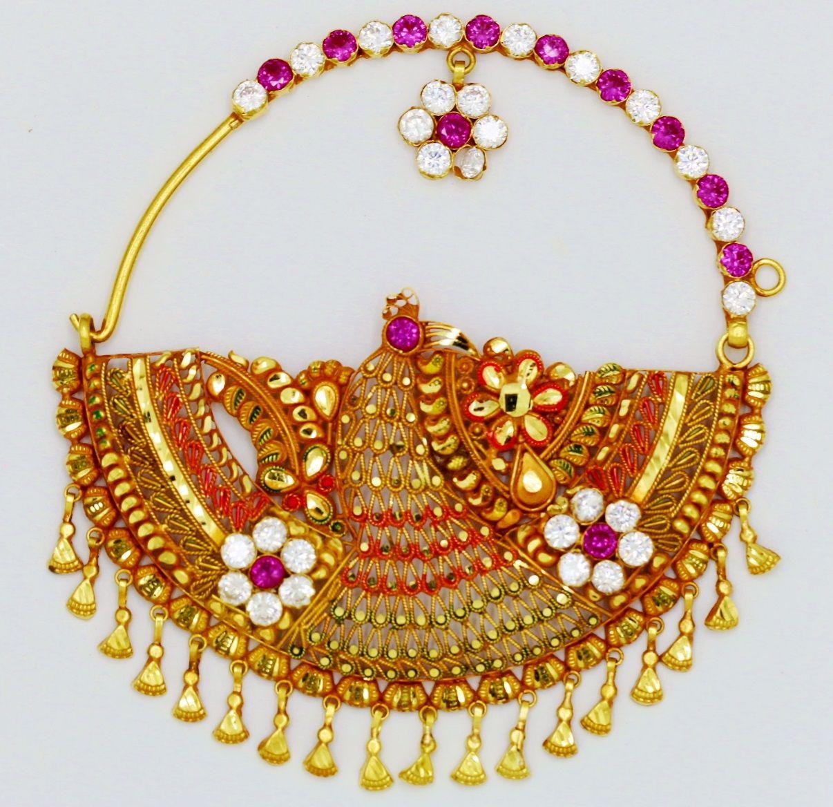 Garhwali Nath 24 79 Bridal Nose Ring Nose Ring Bridal Mehendi