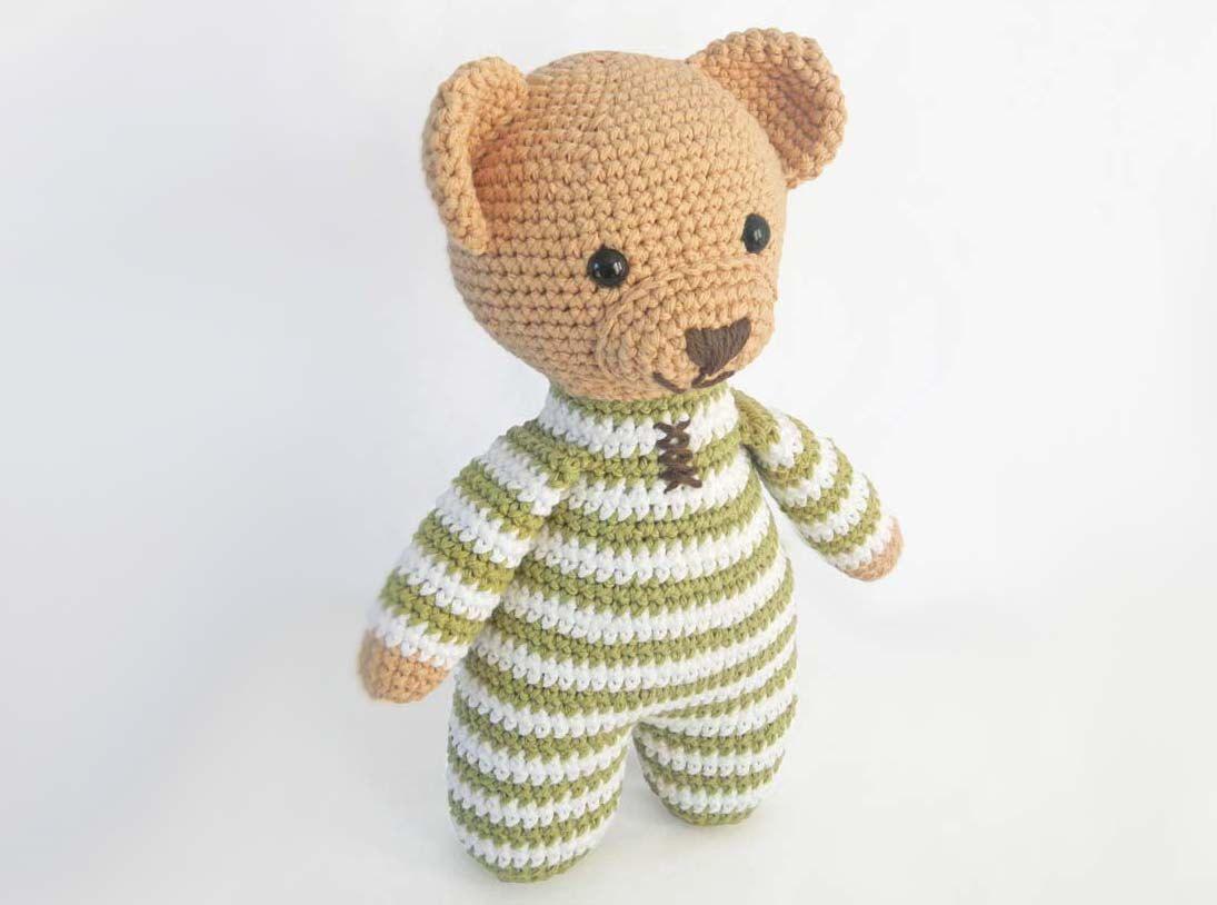 Amigurumi Oso Panda Patron : Amigurumi crochet patrones para patrón de oso de peluche de