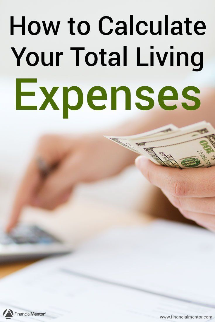expense calculator figure monthly living expenses financial