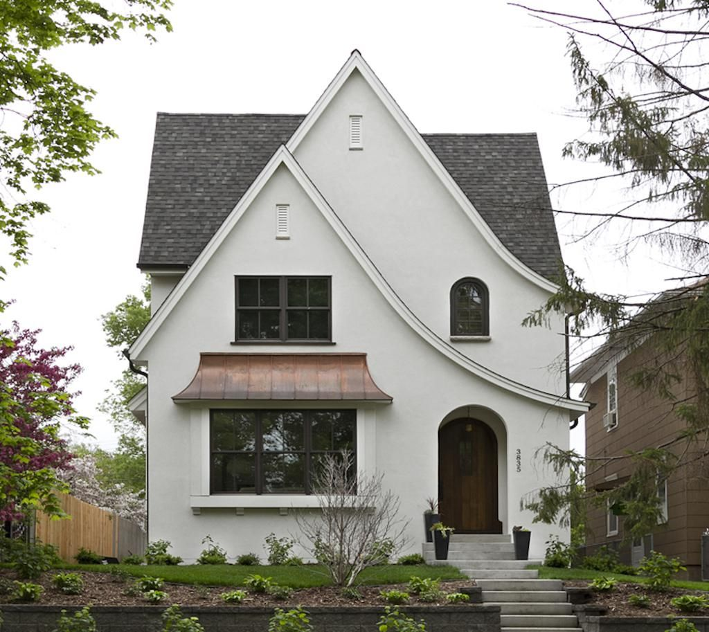 Minneapolis Modern Tudor Custom Home