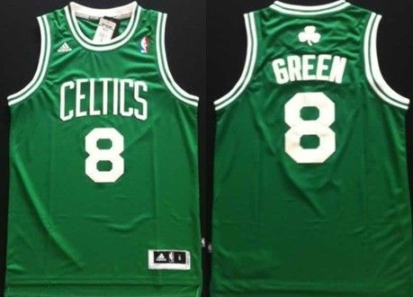 2b62997f9 Boston Celtics  8 Jeff Green Revolution 30 Swingman Green Jersey ...