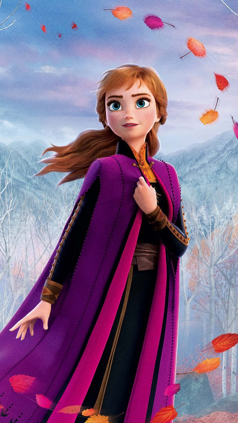 Anna In Frozen 2 Animation 2019 Frozen wallpaper, Frozen