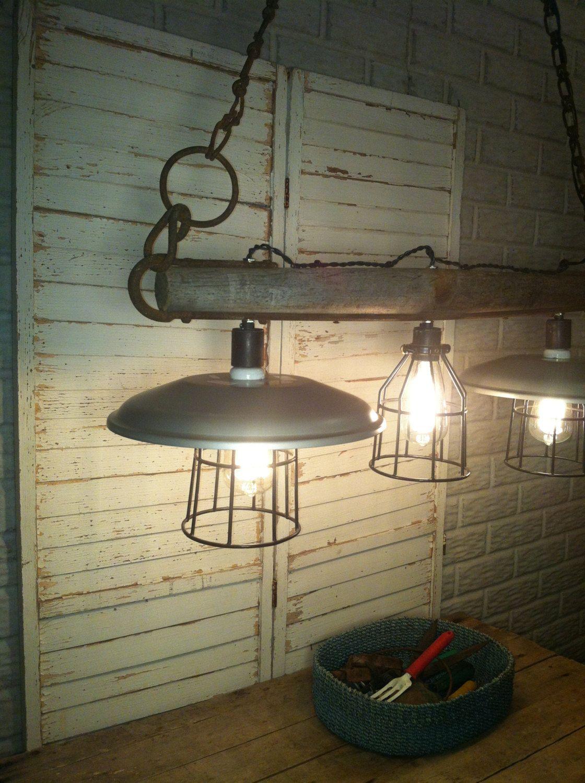 Light fixture | Rustic kitchen lighting, Indoor lighting ...
