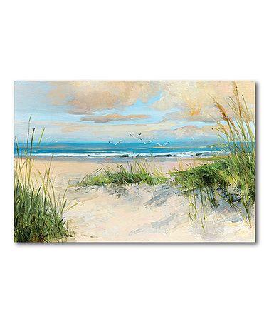 Picture Perfect InternationalGrass Sand Dune Beach Framed Plexiglass Wall Art Set of 3