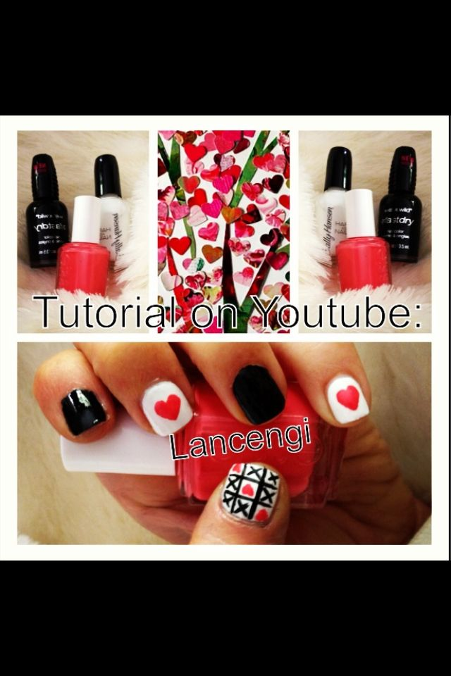Check out new nail art on my YouTube Channel: love always wins ...