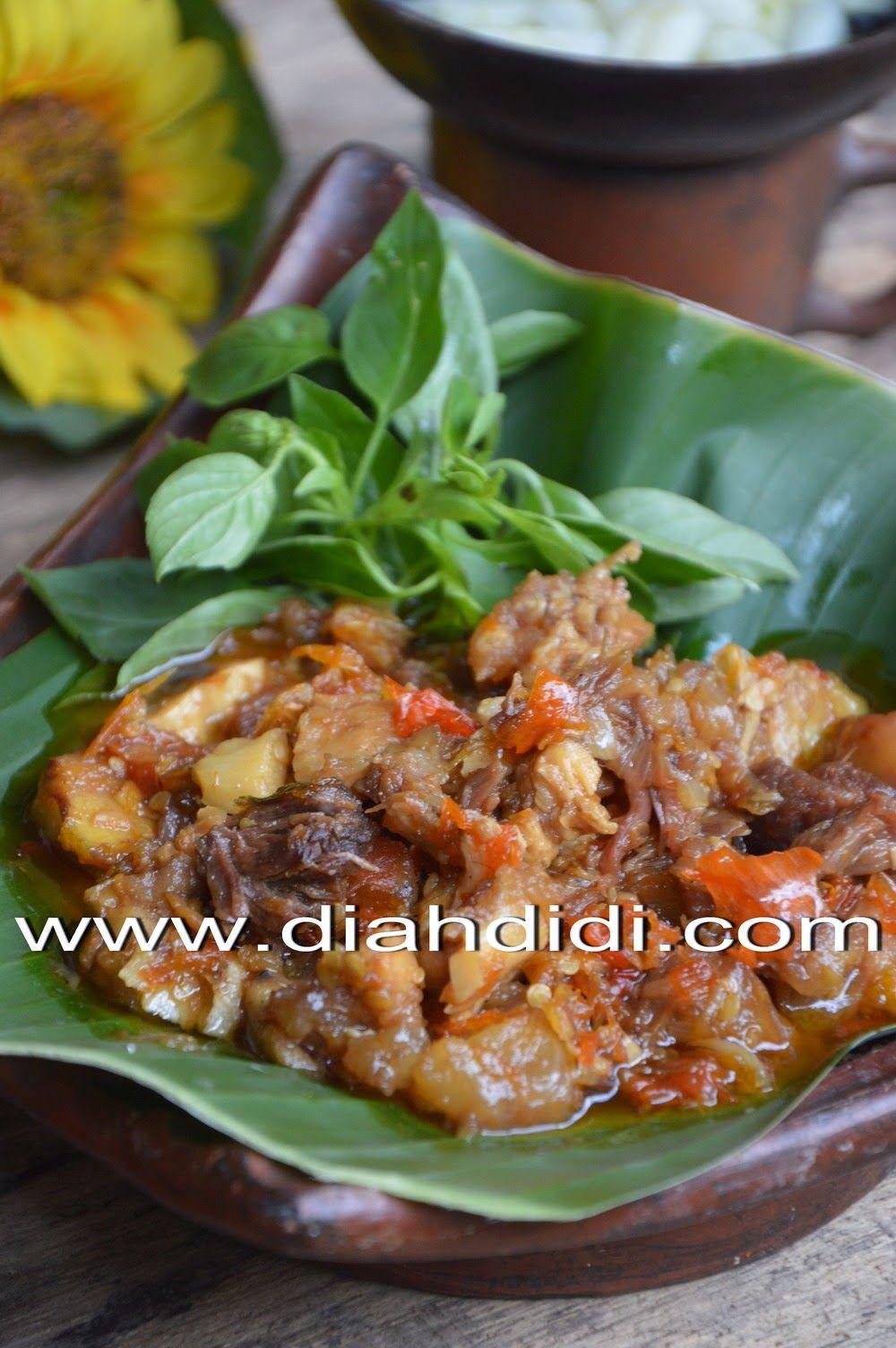 Oseng Koyor Mercon Resep Masakan Makan Malam Resep Daging