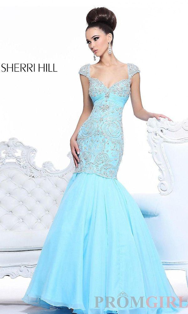 Light Blue Mermaid Prom Dress | Prom dresses | Pinterest | Blue ...