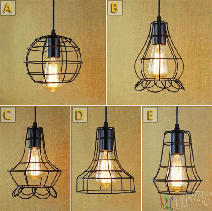 Black metal cage antique vintage retro chandelier lampshade cheap shade fabric buy quality light lamp shade directly from china shade film suppliers black metal cage antique vintage retro chandelier lampshade mozeypictures Gallery