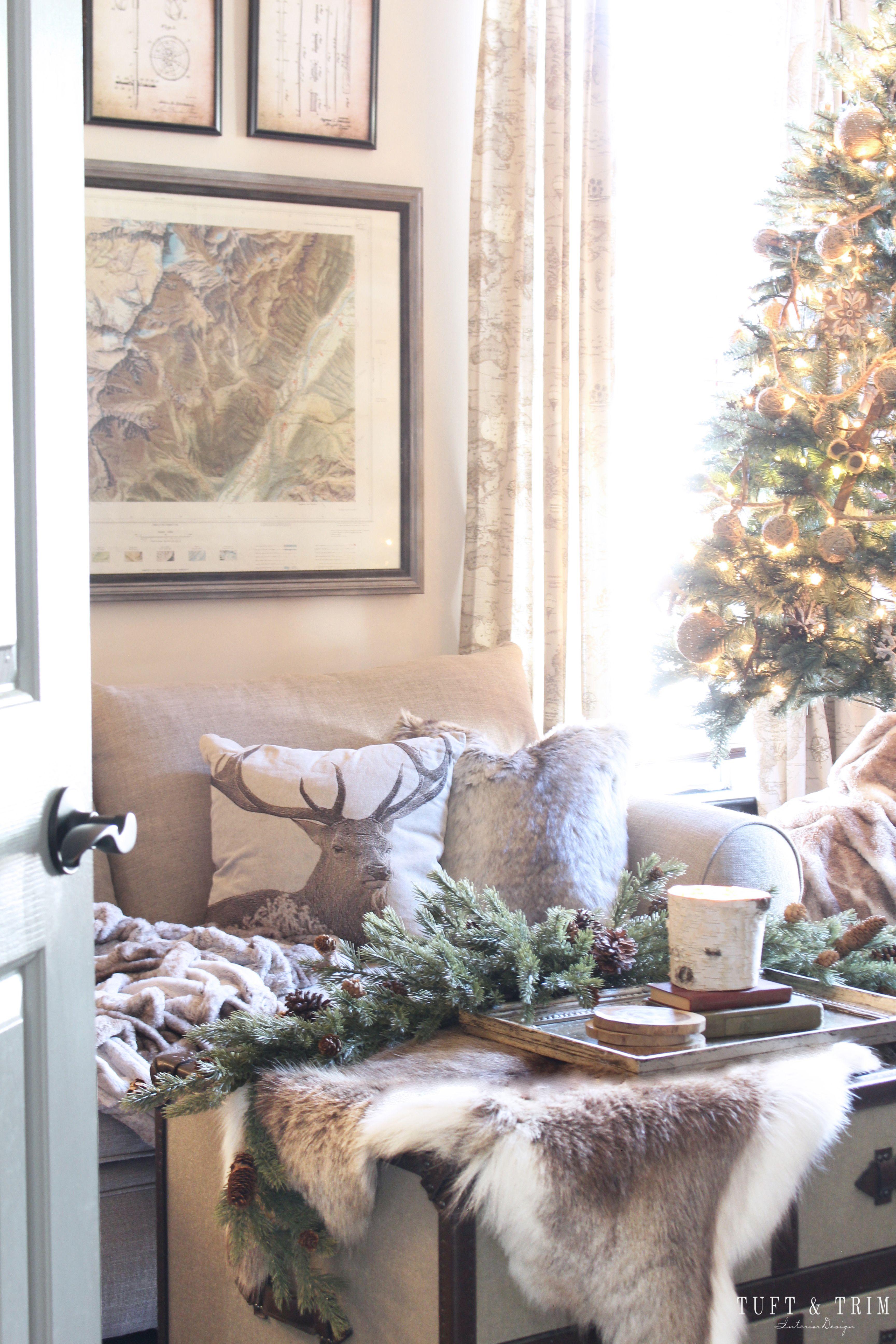 Rustic Cozy Holiday Neutrals Rustic Cozy Seasonal Decor
