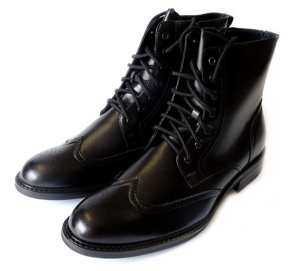 Best Popular Men&39s High Shoes Men Fashionable Leather Men&39s