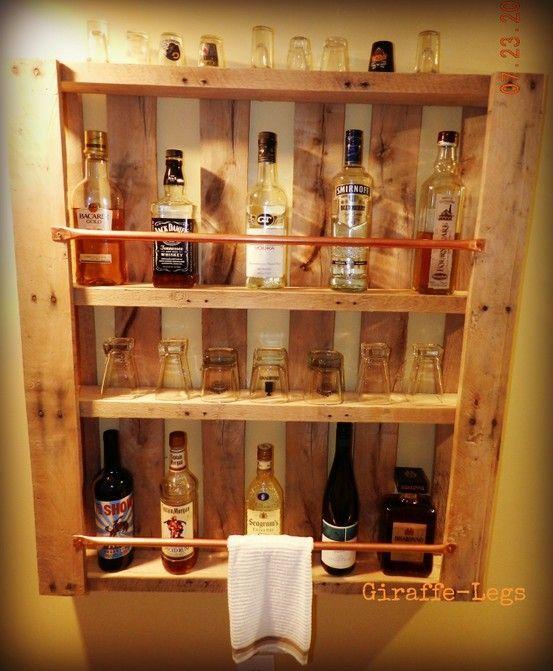 Cocktailbar Zuhause mit stil den feierabend genießen 13 geschmackvolle diy ideen für