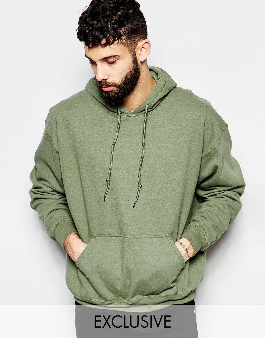 Reclaimed Vintage Hoodie At Asos Com Vintage Hoodies Mens Sweatshirts Hoodie Hoodies