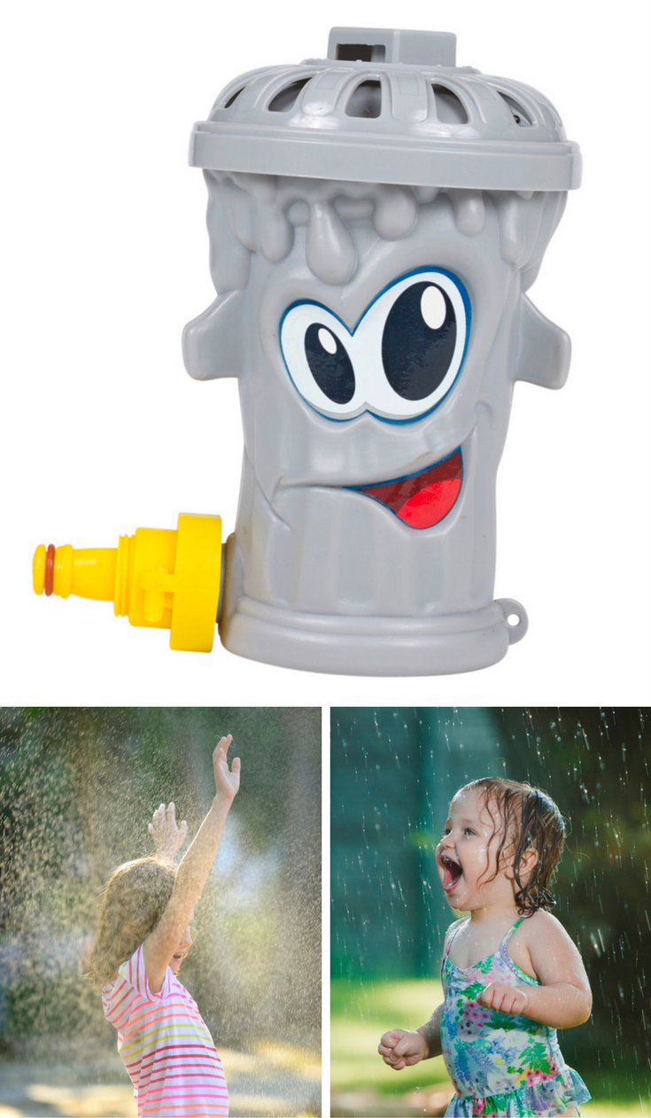 Fun Trash Can Trash Can Garden Sprinkler Toy 6 99 Delivered Ebay Store Daily