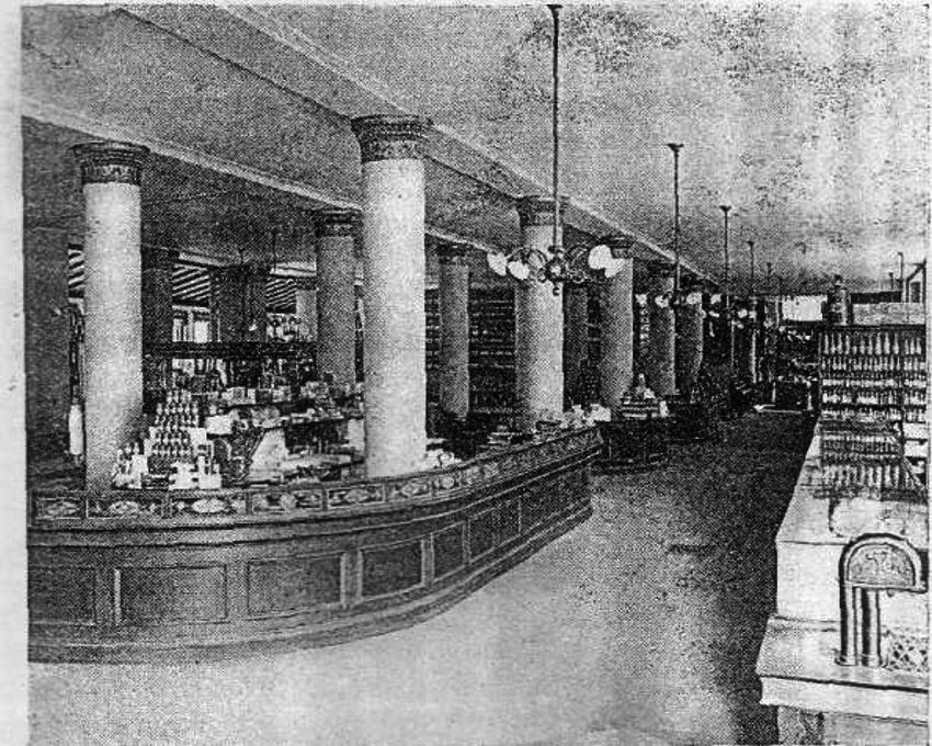 S. Pierce Co's store, Boston, Mass. c1890s. Department