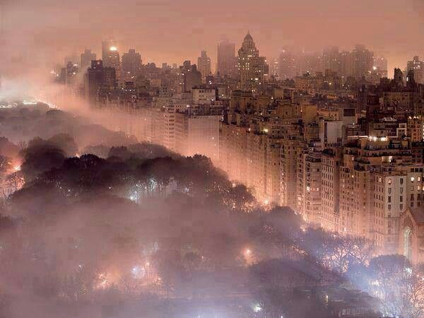 Fogged Out New York Candy Colored Lightning New York