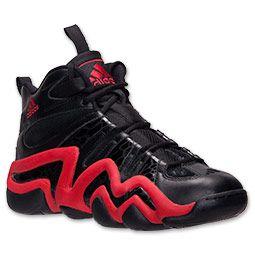 best service 132e4 ad5c3 Mens adidas Crazy 8 Basketball Shoes  FinishLine.com  BlackLight Scarlet
