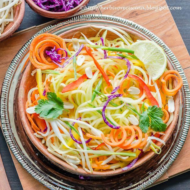 Herbivore Cucina: Thai Papaya Salad   Som Tam