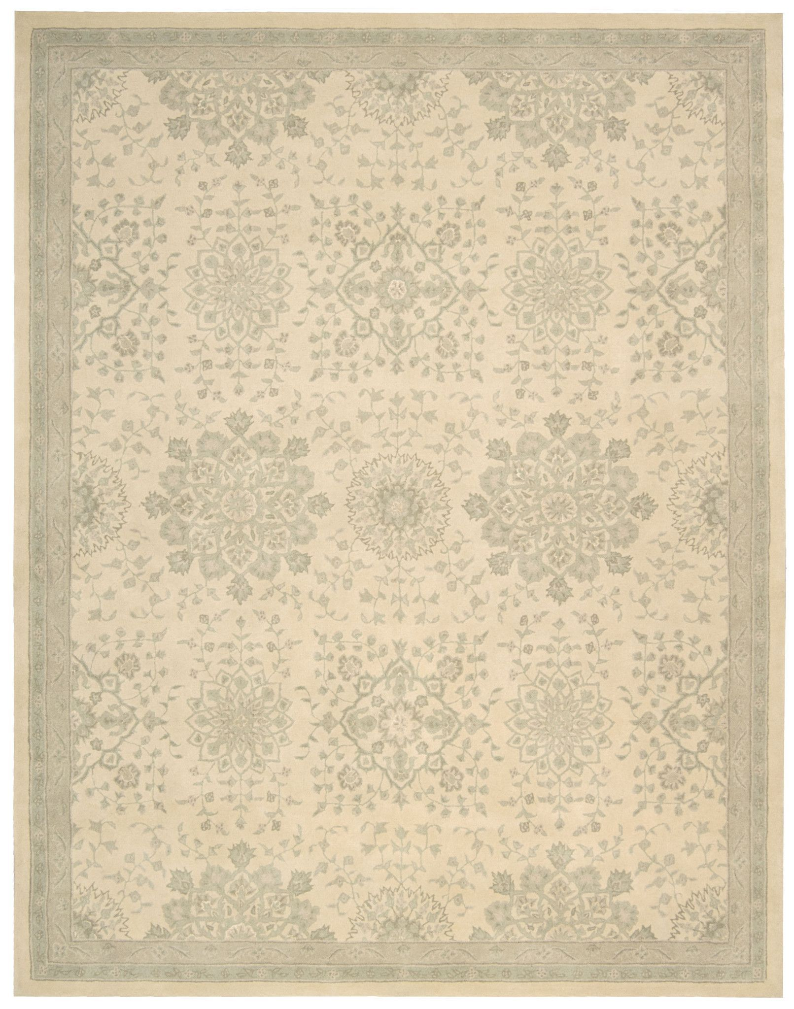 kathy ireland royal serenity st james bone area rug by nourison