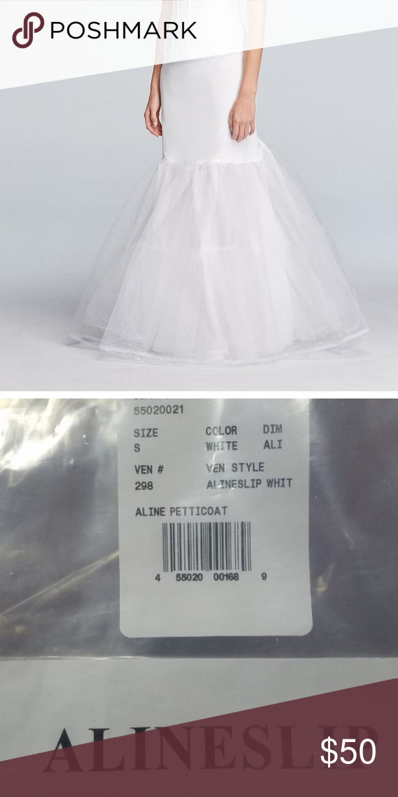 189b46680d60e Womans A Line Slip/petticoat. For Wedding Dress Or Formal Dress Size Small  NEW with packaging - purchased from David's Bridal and never used.