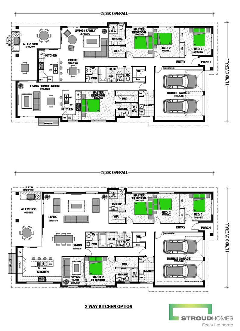 Amity 255 Dual Occupancy Home Design House plans