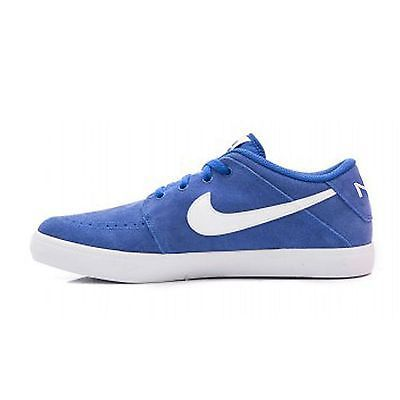 Nike Suketo 2 Leather Mens 631685-410 Royal Blue Casual Shoes Sneakers Size  10
