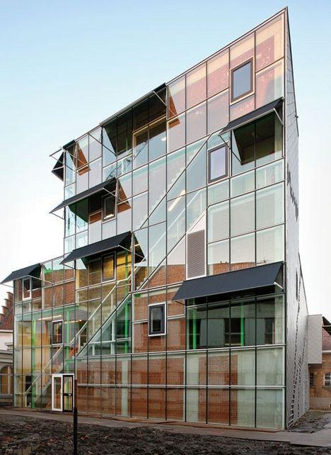 Jan De Vylder Les Ballets C De La B Ghent Step Up - A step up in amazing architecture la