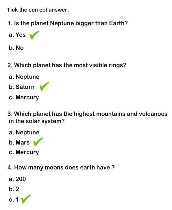 Solar System Worksheet 5 Science Worksheets Grade 1 Worksheets