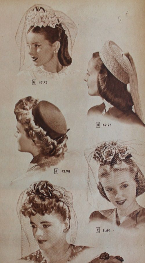 1940s Vintage Hair Accessories 4 Authentic Styles Vintage Hair Accessories 1940s Hairstyles Vintage Hairstyles