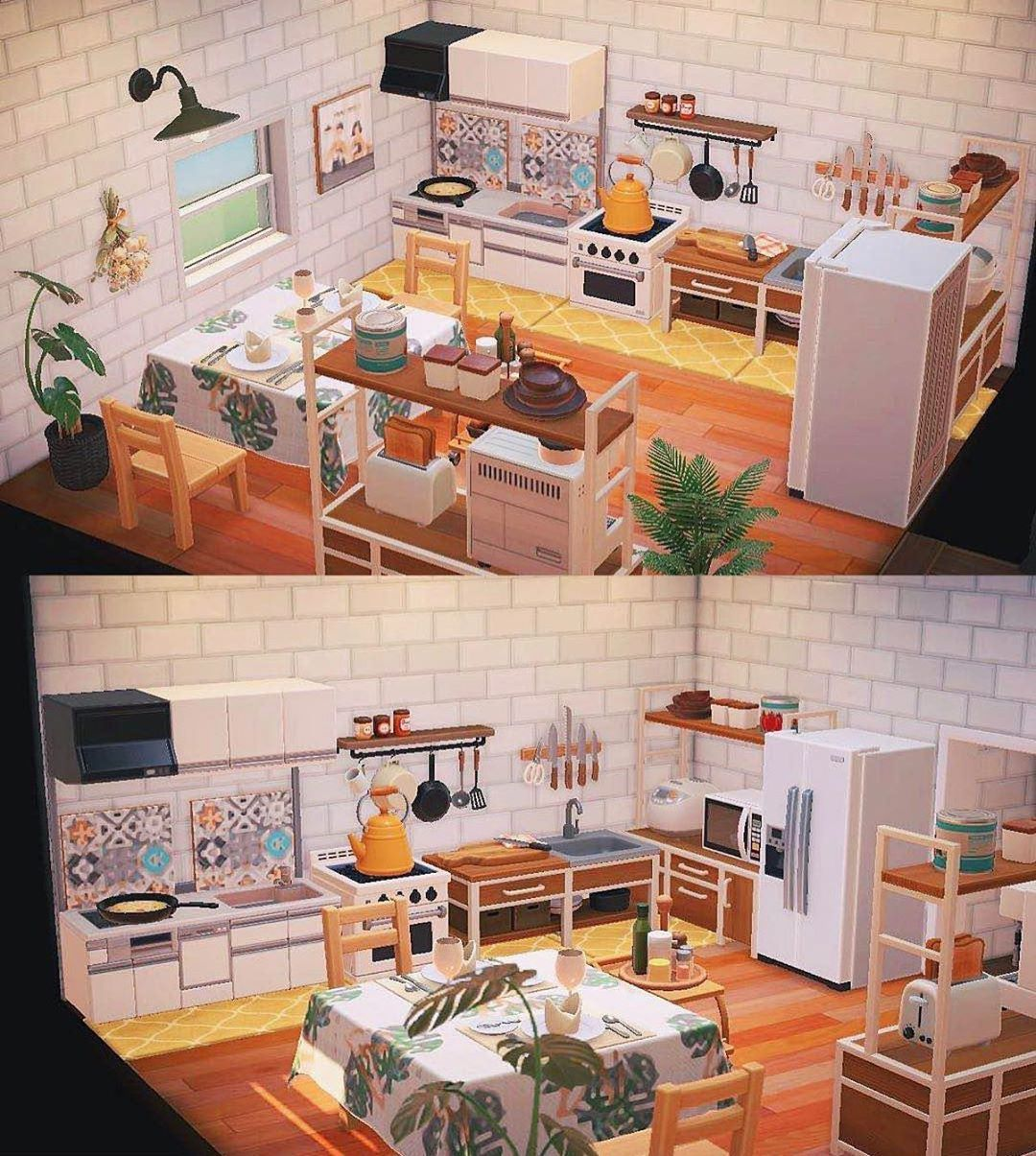 Animal Crossing New Horizons On Instagram Loving This Ironwood Kitchen Credit User Neilc In 2020 Animal Crossing Villagers Animal Crossing Animal Crossing Game