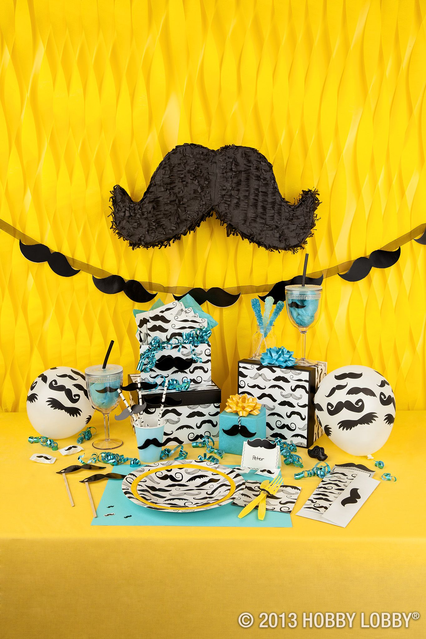Weve Got Everything You Need To Throw Your Own Mustache Bash The